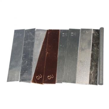 Electrode, Copper 19mm x 50mm.