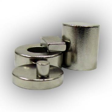 Magnet, Neodymium 6 mm x 6 mm.
