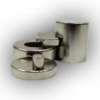 Magnet, Neodymium 20 x 10 x 8 mm. (OD, ID, H) Ring Shaped.
