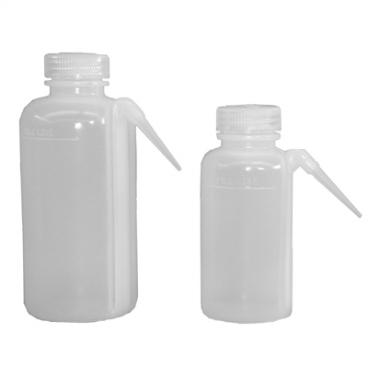 """Bottle,Wash LDPE Round 1000mL. 3.5 x 3.5 x 8""""."""