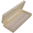 Microscope Slide Case Plastic 100 Slides
