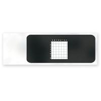 Microscope Slides, Ruled, 2mm Squares, pk/5