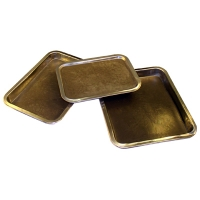 Dissection Pan, Black Wax, Small