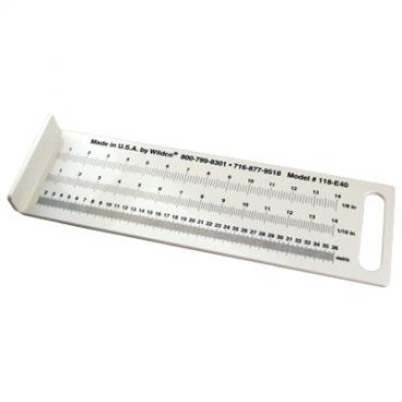 """Fish Measuring Board, Mini 16 x 5 x 1.5""""."""
