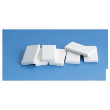 Streak Plates, White, 10-Pack.