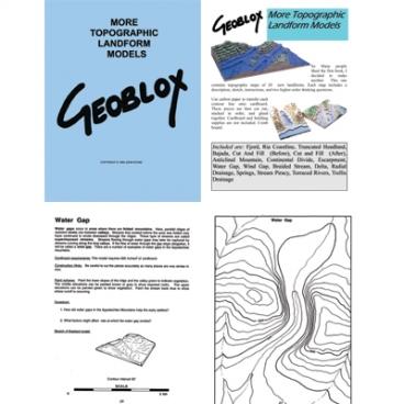 Geoblox Models: More Topo Form.
