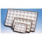 Rock/Mineral Display Box, 9 Cells, 1X1.5in
