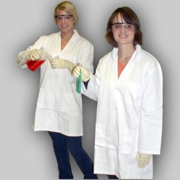 Lab Coat, Large, 121 cm Chest.