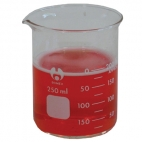 Beaker Glass LowForm  600ml Graduated