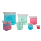 Beaker Tpx Graduated.(Clear) 250ml
