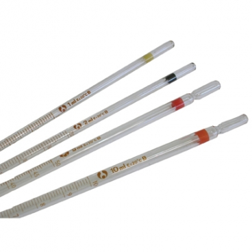 Pipette Measuring Glass. 2mL X 0.02 (Mohr Pipet).