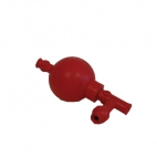 Pipette Filler Bulb 3 Valve. Rubber (1 Piece).