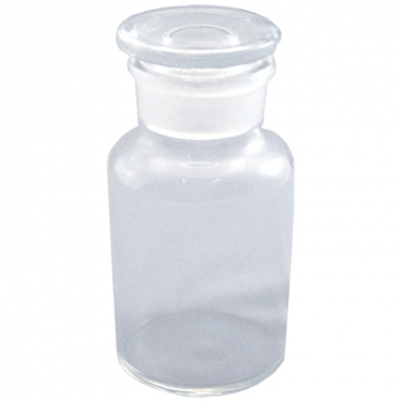 Reagent Bottle with Glass. Stopper 500 mL Widemouth.