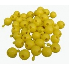 Pop Bead, 4-Way, Yellow, Pk300