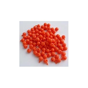 Pop Bead, 4-Way, Orange, Pk300