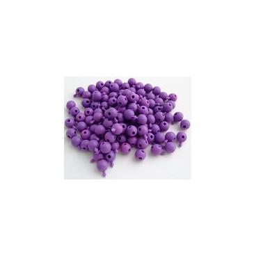 Pop Bead, 4-Way, Purple, Pk300