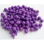 Pop Bead, 4-Way, Purple, Pk300