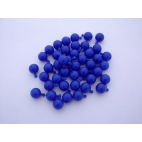 Pop Bead, 2-Way, Blue, Pk150, 1 Tab 1 Hole
