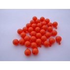 Pop Bead, 2-Way, Orange, Pk150, 1 Tab 1 Hole
