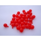 Pop Bead, 2-Way, Red, Pk150, 1 Tab 1 Hole