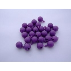 Pop Bead, 2-Way, Purple, Pk150, 1 Tab 1 Hole