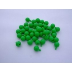 Pop Bead, 2-Way, Green, Pk150, 1 Tab 1 Hole