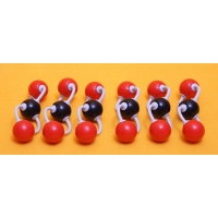 Carbon Dioxide Molecule (Set of 6)