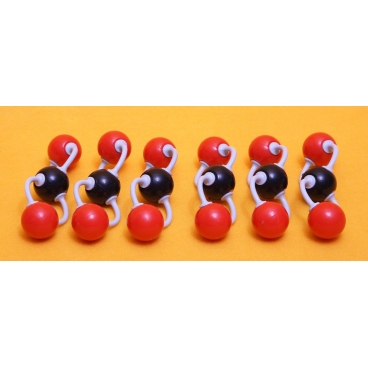 Carbon Dioxide Molecule Model