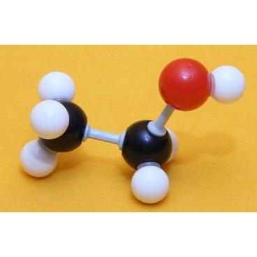 Ethanol Molecule Model
