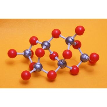 Quartz Molecule Model