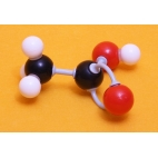 Vinegar Molecule Model
