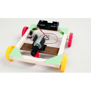 Motorized Worm Gear Vehicle Kit