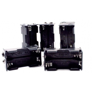 Battery Holder - 4-AA  5/pkg