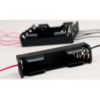 Battery Holder, For 1-AA Battery Pkg/5