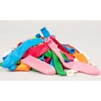 Balloons,  Long, Asst. colors, Pkg Of 50