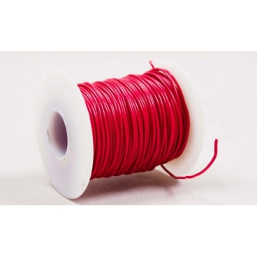 Wire, Multistrand, Red, 100'
