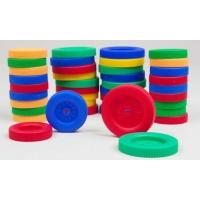 Wheels, Plastic Pkg Of 40, 20 Of each Size