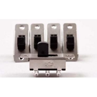 Sm Slide Switch, On/off Pkg/5