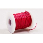 Wire Red 100' Roll Solid 22 Ga