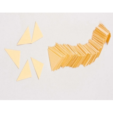 Triangles, Cardboard Gold 300/pkg