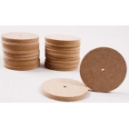 "Wheels, Wood 2 3/4""dia. 20/pkg"