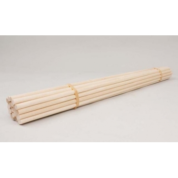 """Dowels, Wood 1/4x16""""-25/bundle"""