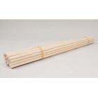 "Dowels, Wood 1/4x16""-25/bundle"