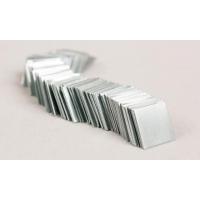 Zinc Pieces, 1cm Sq, Pkg/100