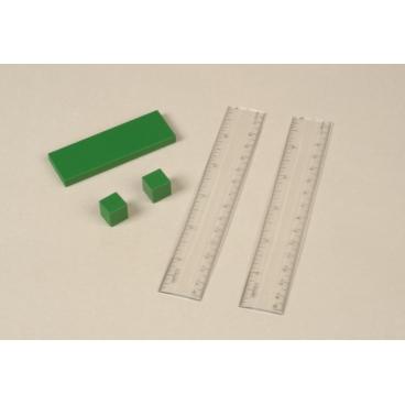 Metal Cubes & Slab Set