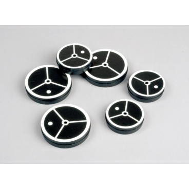 Air Table Pucks, Pkg/6