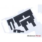Photogate Flags, Set of 8, Air Track Accessory, Daedalon®