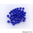 Pop Bead, 4-Way, Blue, Pk300