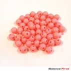 Pop Bead, 3-Way, Pink, Pk150, 1 Tab 3 Holes
