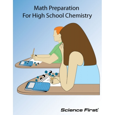 Book, Math Prep For High School Chemistry - Science First